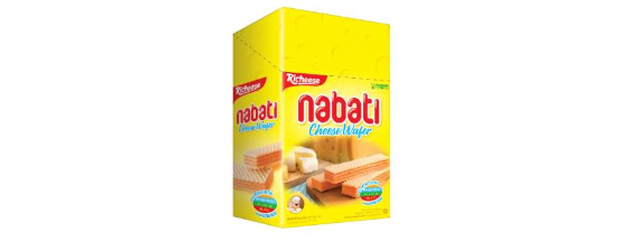 Richeese Nabati Cheese Flavored Wafer Nabati Snack